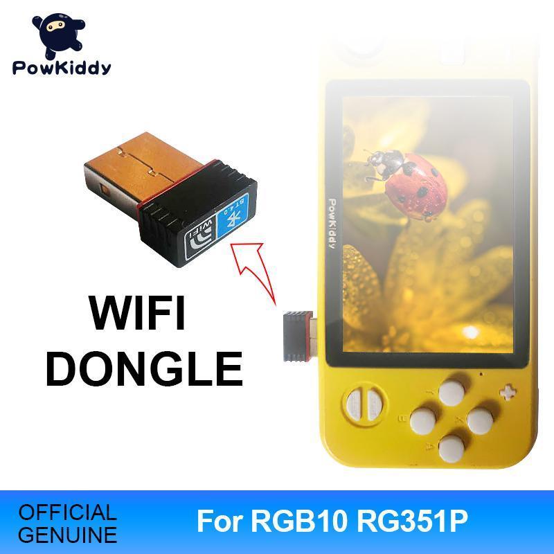 Powkiddy Wireless Wi-Fi Dongle Получить подходящее для Powkiddy RGB10 RG351P портативной игровой консоли для игры WiFi Adapter
