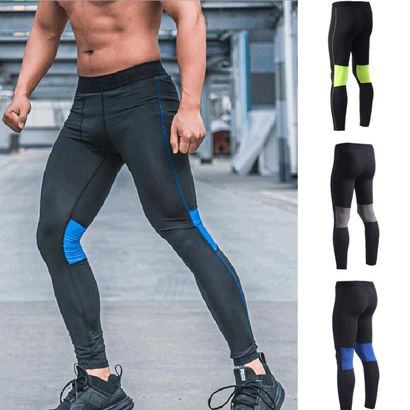 Laufen Hosen Fitness Strumpfhosen Männer Jogger Bodybuilding Herren Leggings Fitnessstudio Compression Jogging Lange Hosen Sport
