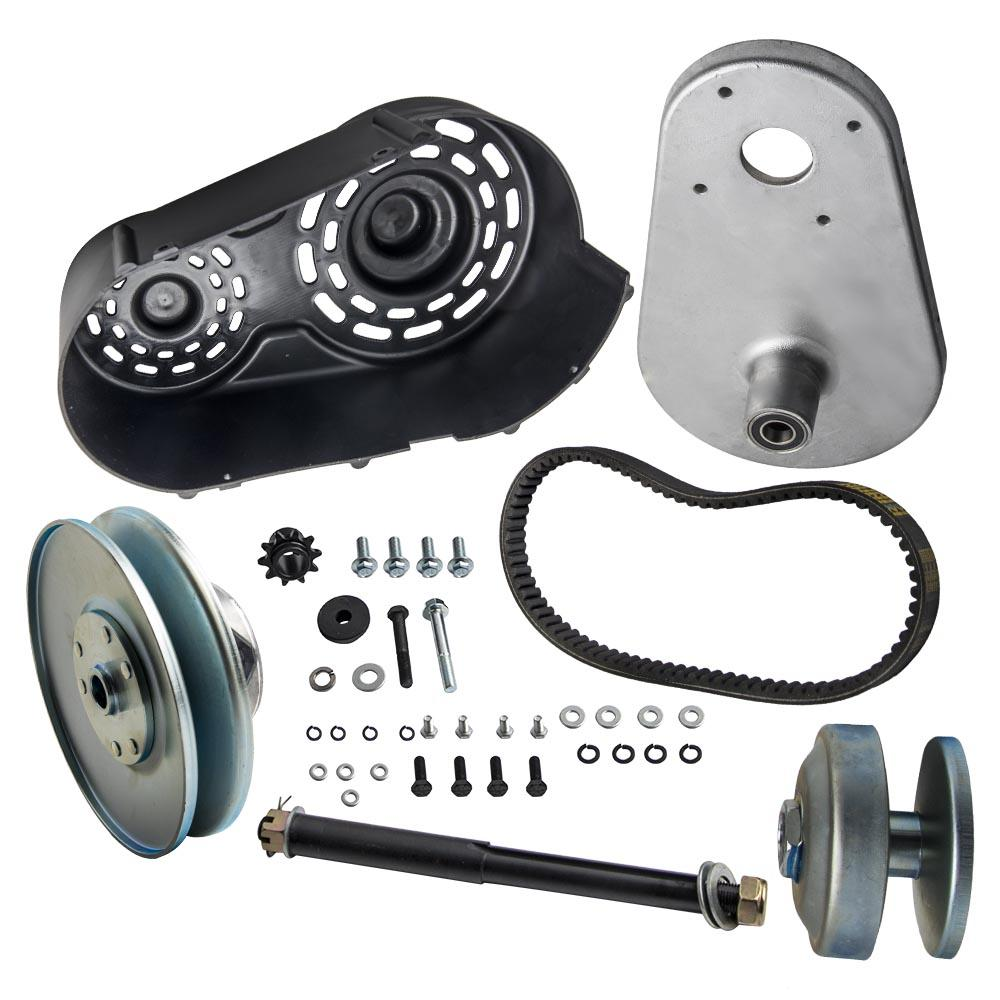 """40 Series 1"""" Driver 5/8"""" inch Driven Torque Converter Clutch Kit Set Go Kart Pulley for Comet for Manco straight crankshaft with 1/ keyway"""