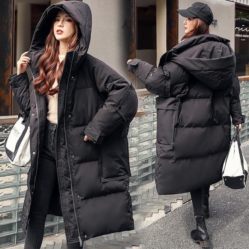 JtAa Jacket Hooded Arrival Down spvn Outerwear Coats Thickening New Winter Snowsuit