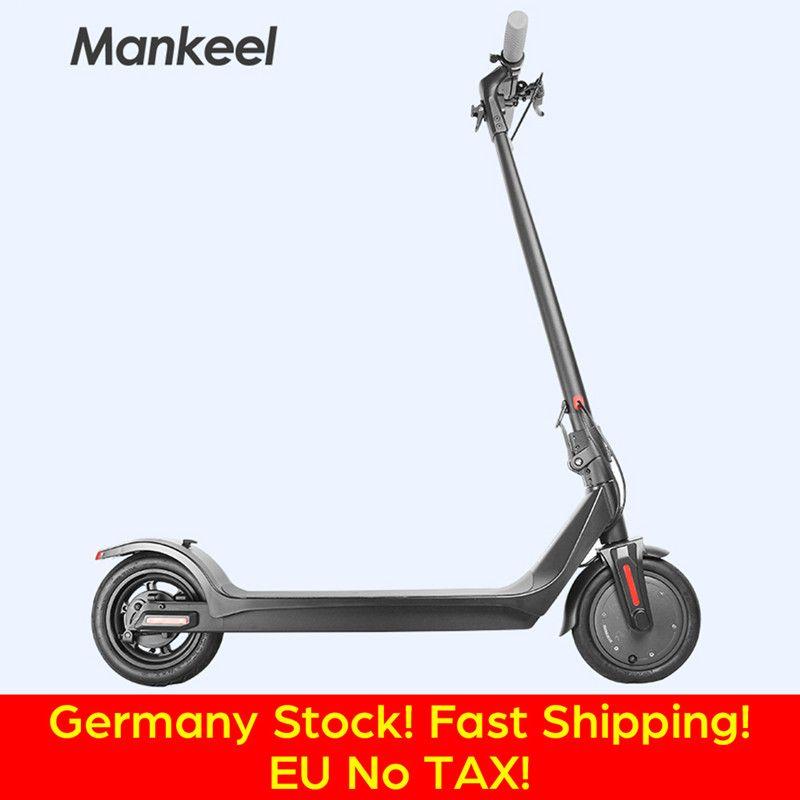 Bicicletta elettrica ad alta tecnologia senza tasse 36V 350W mini ciclomobile Bicycle 8.5 pollici pieghevole Black 27km / h Bike elettrica alta qualità EU Stock