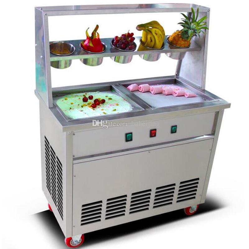 Лучшие продажи из нержавеющей стали жареное мороженое из нержавеющей стали жареный йогурт мороженое