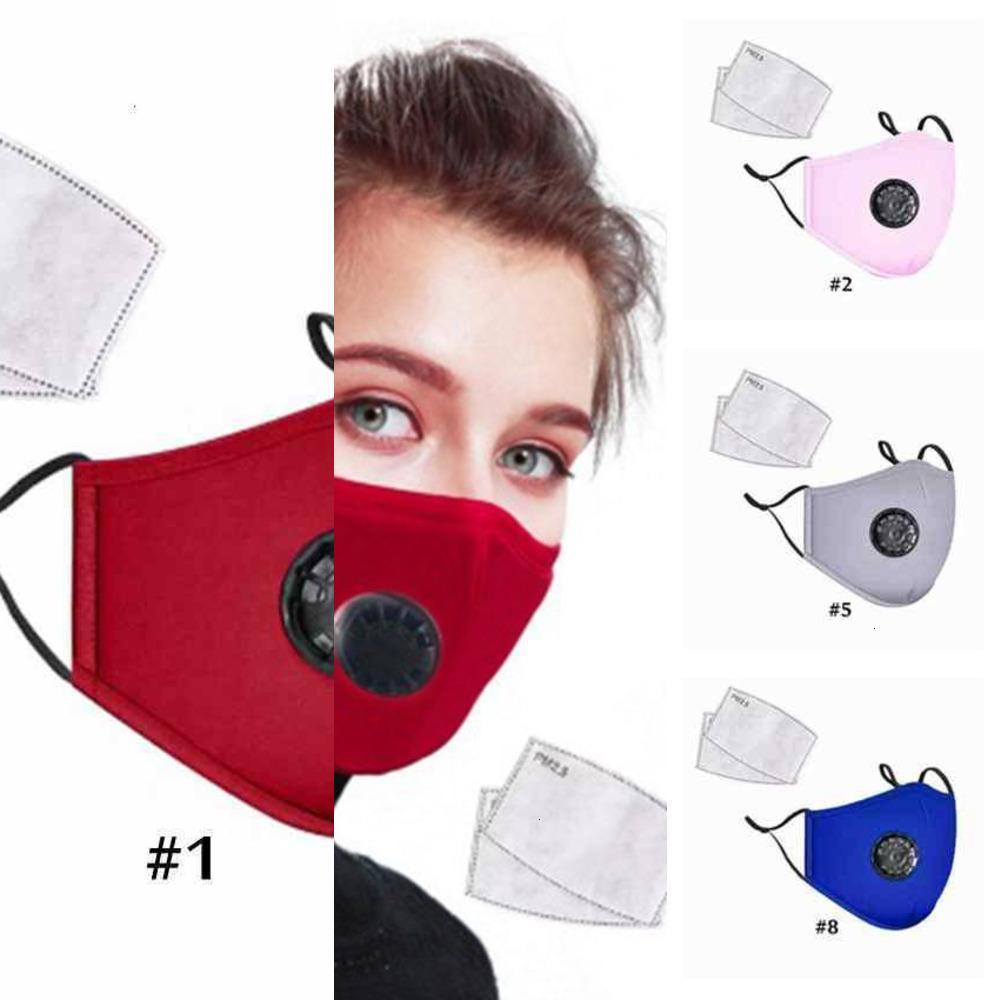 Valvola viso regolabile respirabile Maschera antistadio Adulto Adulto Anti-polvere Riutilizzabile Maschere traspiranti Aspirabili An X3Qo 1R2NU