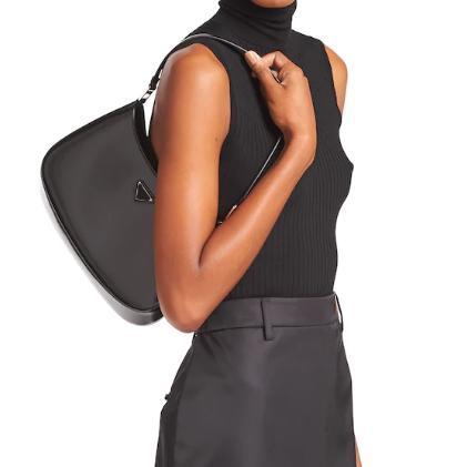 Umhängetaschen Handtaschen Luxurys Designer Taschen Crossbody Bag Rucksack Totes Cleo gebürstete Leder Schultertasche Designer Geldbörsen frei 20112001l