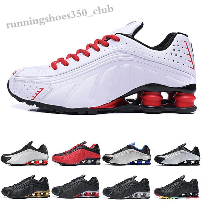 NIKE Air SHOX R4 301 2019 R4 Мужская Обувь Новый дизайн Chaussures Доставка черных белых Оз NZ 802 809 Кроссовки OG Plus Тренажеры Zapatillas TQ06