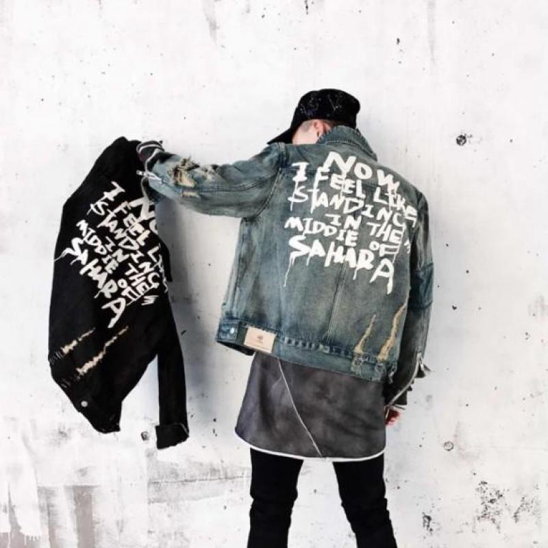 2021 Jeans vêtements de vêtements manteau veste en coton jeans veste hommes s-xl1 et vestes denim hommes lfehe