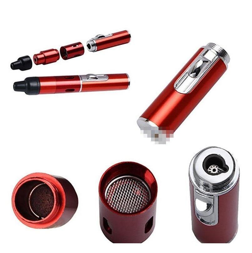 Vendita calda Clicca n VAPE Sneak vaporizzatore penna a secco erba vaporizzatore fumare tubo metallo tubo a vento a prova di vento a prova di torcia per d jllsjt sport77777