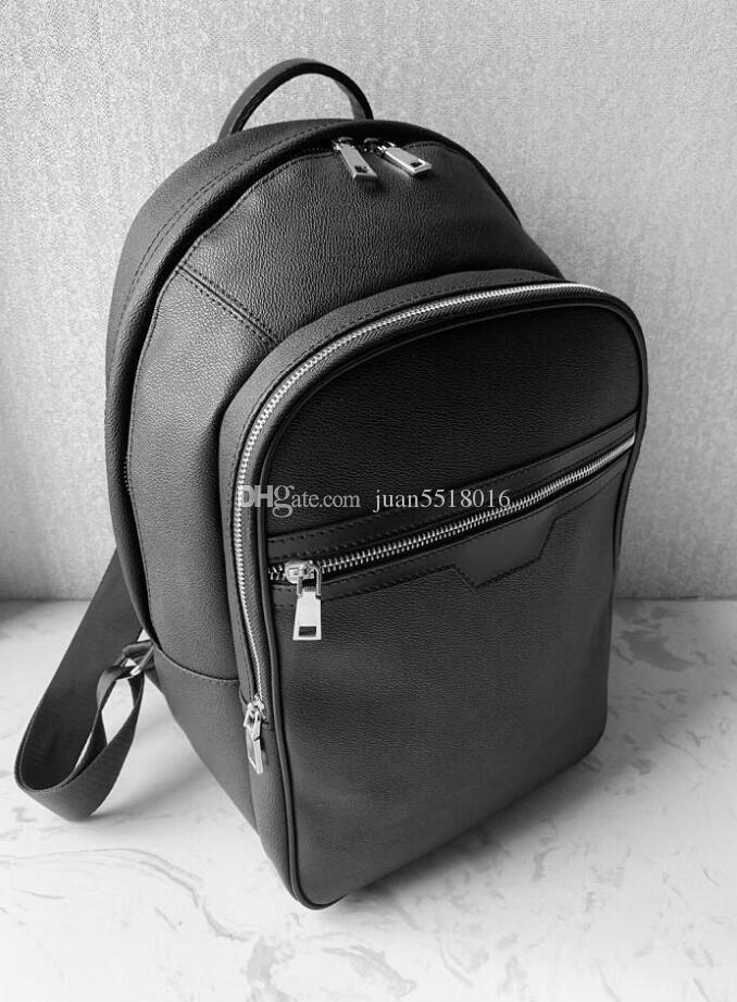 2019 뜨거운 판매 고전적인 패션 가방 검은 양각 된 여성 남성 배낭 스타일 가방 더플 백 유니섹스 어깨 핸드백 40cm