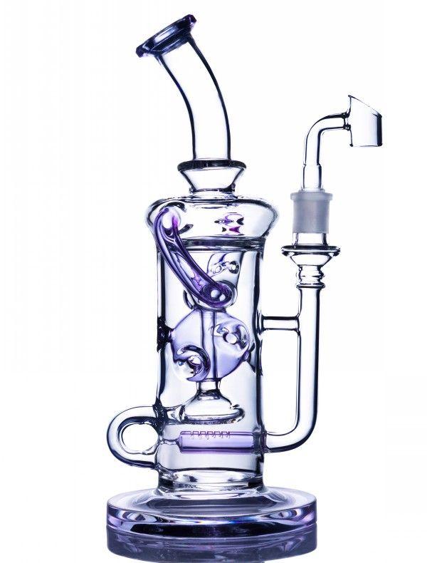 안경 봉 재활용 기름 장비 물 담뱃대 Heady Dab rig 흡연 물 파이프 비커 두꺼운 유리 버블러 퍼콜 레이터 물 봉지 왁스 치마