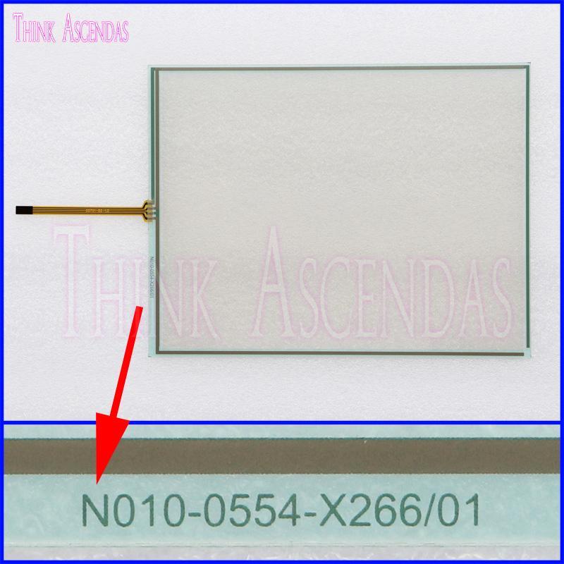 Yepyeni 10.4 inç N010-0554-X266 / 01 Dokunmatik Ekran Paneli TouchPad Dokunmatik Ekran Yüksek Kalite