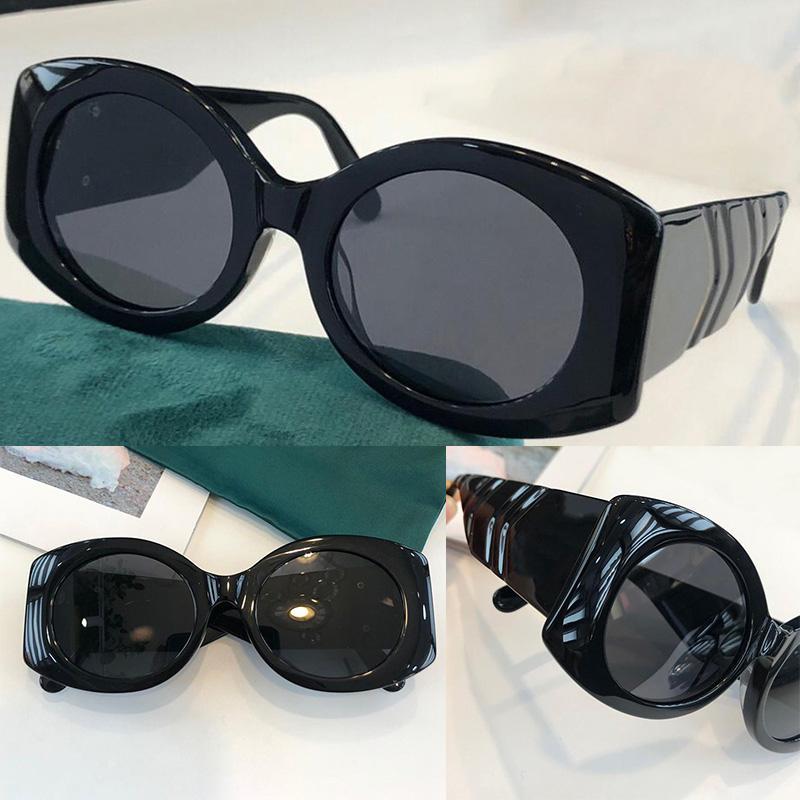 0810 Moda Güneş Gözlüğü ile UV Koruma Erkekler ve Kadınlar Için Vintage Oval Çerçeve En Kaliteli Comecase Classic