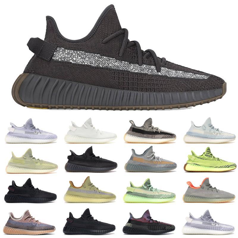 Kanye إزعافيل المدربين رجالي الاحذية Cinder الأرض الذيل ضوء زيبرا إمرأة حذاء رياضة عاكس ثابت