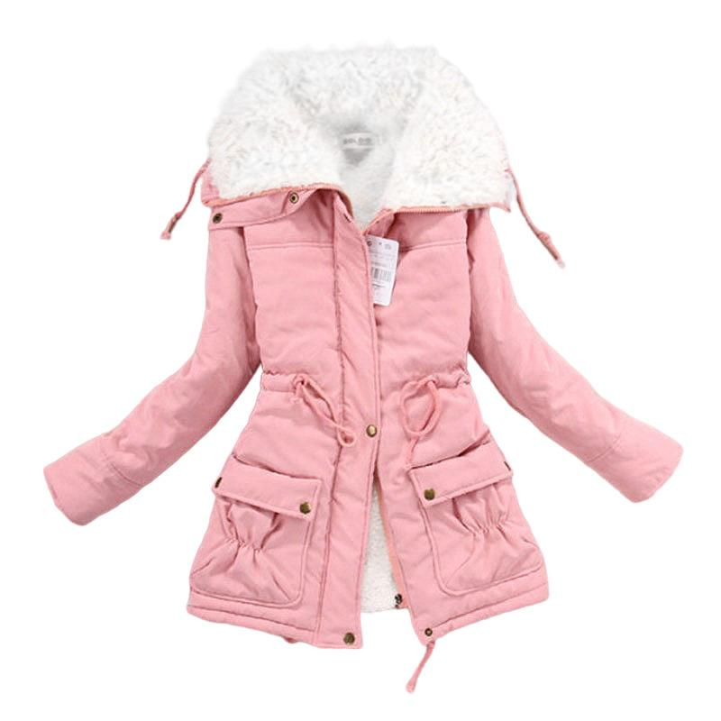 Winter Clothes Women Fleece Lamb Fur Parka Thick Woman Winter Coats And Jackets Warm Parkas Women Plus Sizes Winter Jacket Women 201211