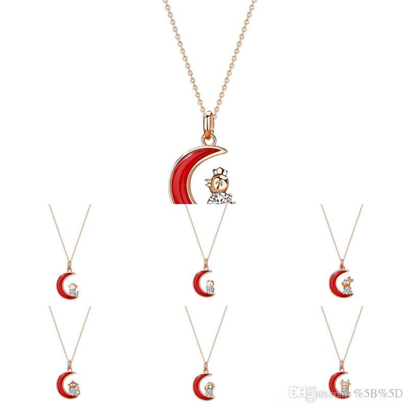 fth1 shixin fashion lock cadeado pedaço de pingente de pingente de pingente para mulheres ouro prata chave chaveiro camadas colar no pescoço o com com
