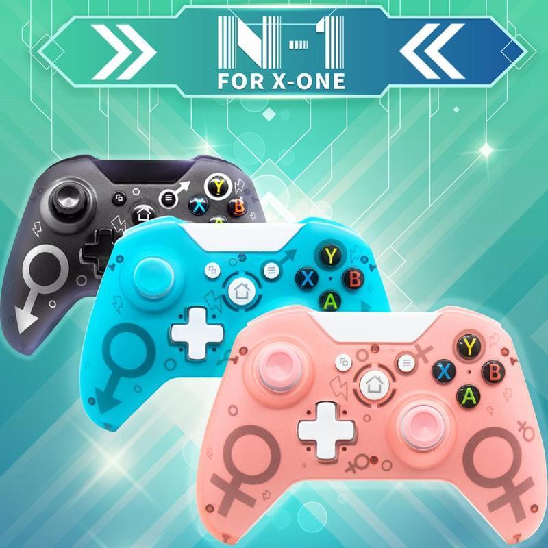 N-1 Wireless 2.4GHz-Spielcontroller für Xbox ONE für PS3-PC-Spiele Joystick Gamepad mit Dual-Motor-Vibration