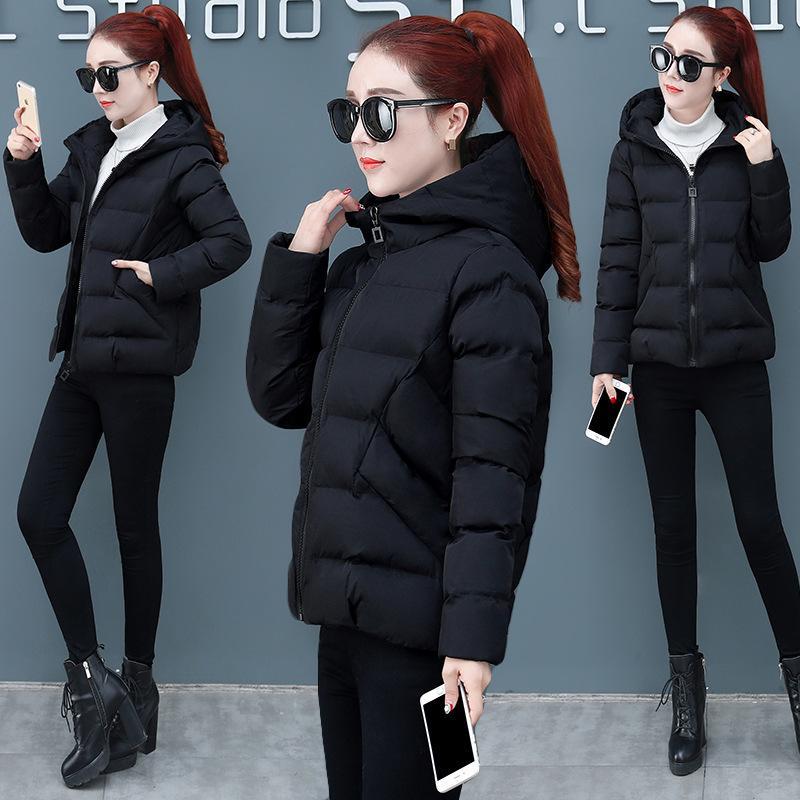 Curto 2020 inverno novo acolchoado pão solto mulheres coreanas engrossou jaqueta de algodão