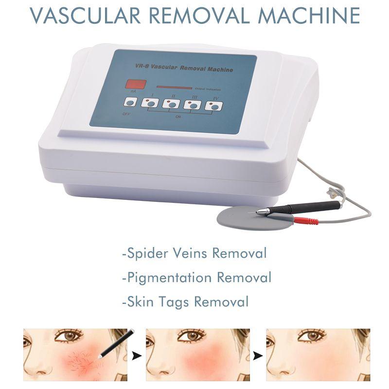 Macchina portatile di trattamento della vena della vena della macchina per la rimozione vascolare ad alta frequenza Attrezzatura di bellezza per uso domestico