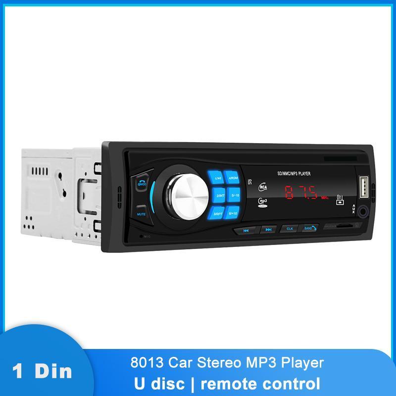 Auto Audio 8013 Bluetooth Radio MP3-Player Stereo Freisprecheinrichtung TF-Karte Spielen USB AUX FM Auto