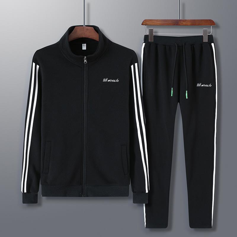 2020 Fashion Running Set 2 blocco respiro fit fit allenamento abito da uomo palestra sportiva abbigliamento da calcio con cappuccio jogging felpe L-5XL
