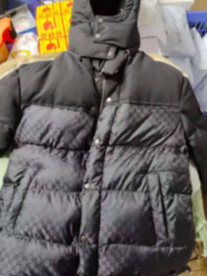 Homme Designers Vêtements Capuche à capuche Zipper Lettre de Coton réfléchissant Veste de coton Mens d'hiver Hommes Designers Sweaters Hommes Vêtements Noir 02