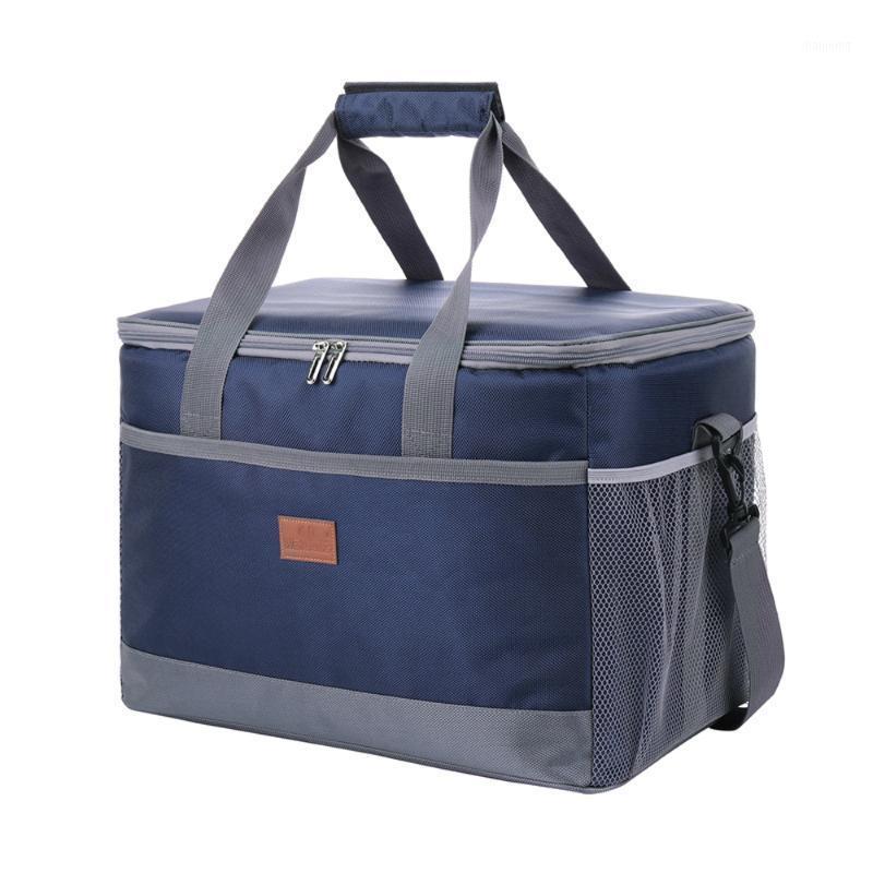 Backpacking Packs Packs 33L Большая емкость Утечка Утечка Обеждевая Сумка Термический Большой Пикник Прохладный и Теплый Утепленный Пакет Наружные напитки Хранение Bag1