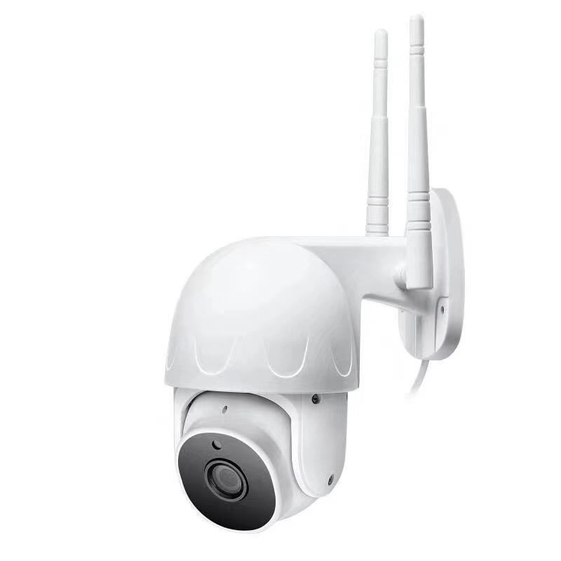 USVision Tuya 2inch WiFi Speed Dome 1080P كامل HD اتجاهين الصوت IP كاميرا Smart الرئيسية أمن الوطن تتبع السيارات 2MP اللون للرؤية الليلية PTZ