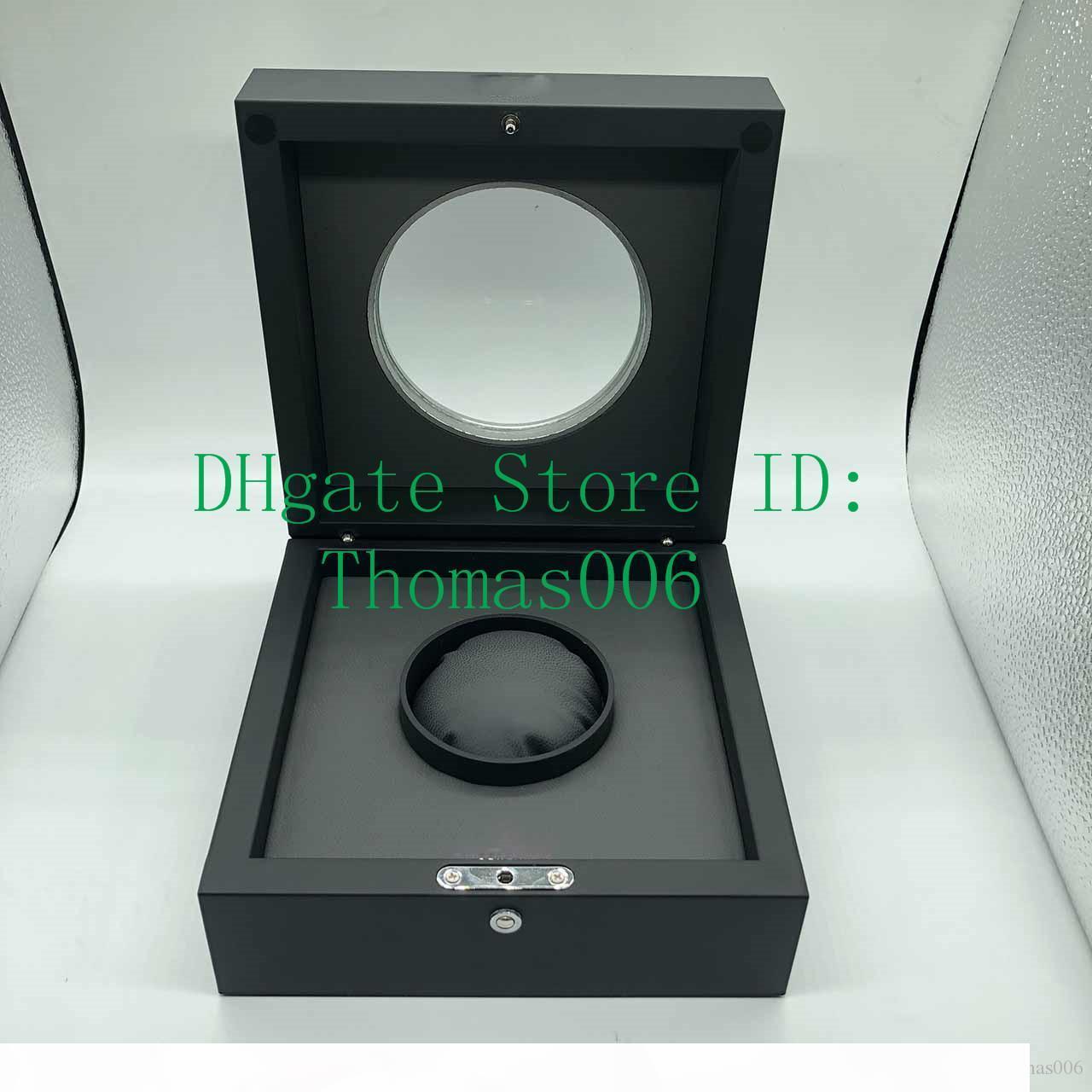 Boîtes de montre Boîte Noir Montres Boxes Transparent H Montre original pour LSL9013 Spot Spot Boîte haute qualité