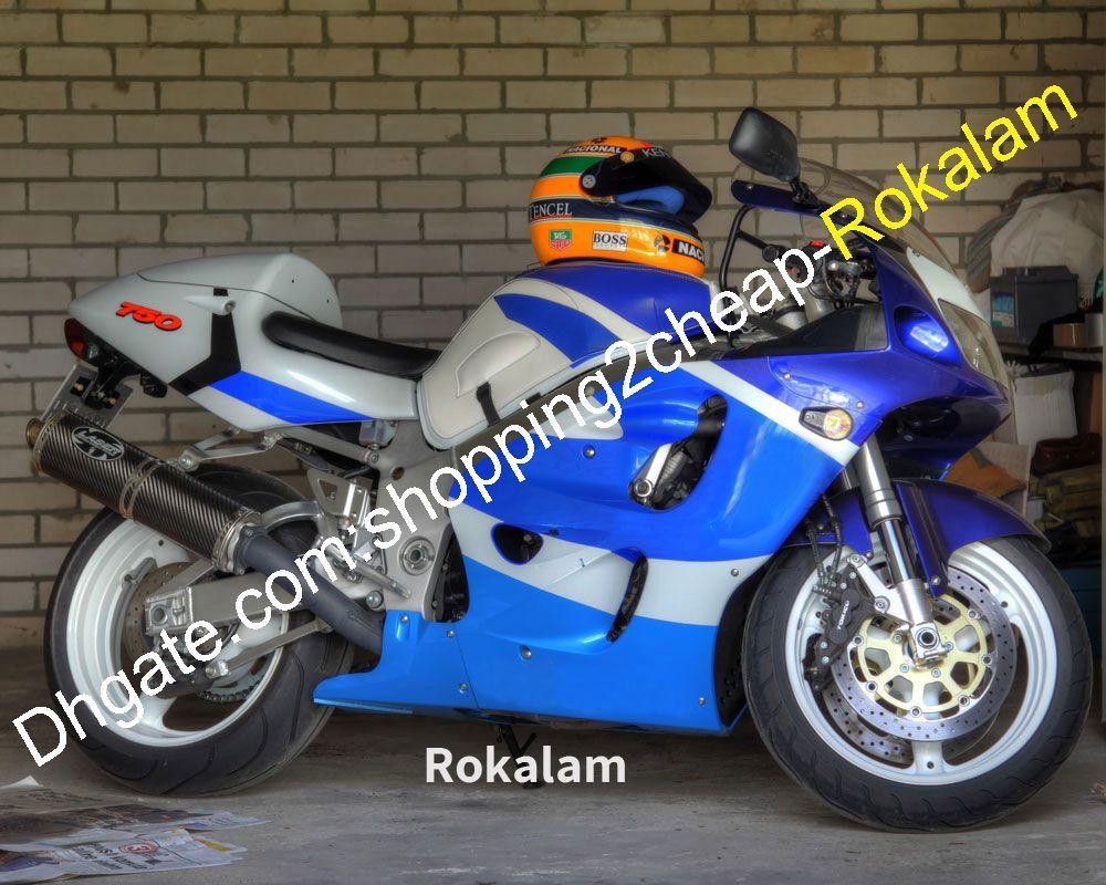 SUZUKI GSXR600 GSXR750 PERAKTİK GSXR 600 750 96 97 98 99 1996 1997 1998 1999 Mavi Beyaz Kodu Komple Set Cowing
