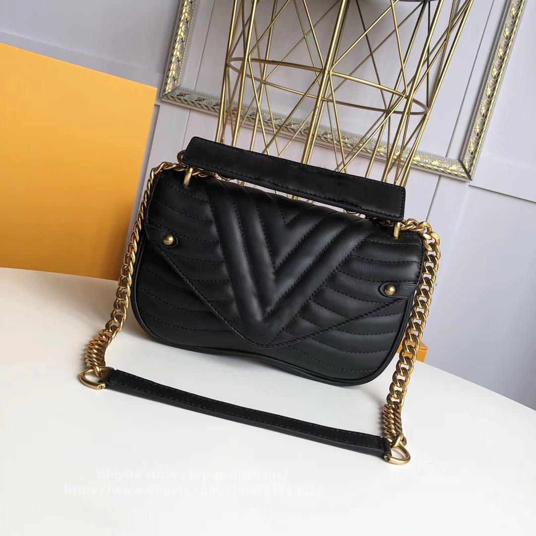 2020 Hot Venduto Fashion 21cm Top Quality Lussurys Designer Fashion Genuine Pelle Donne Borsa a tracolla Lettera Crociera Crossbody Bag Shipin