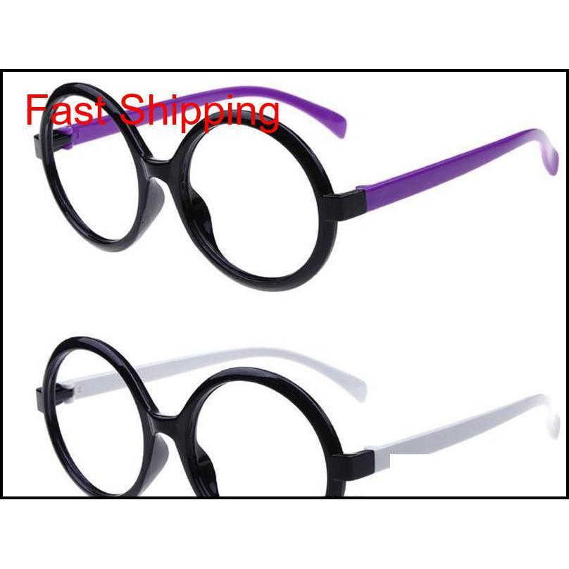 Yeni Varış Bebek Gözlük Çerçeve Çocuklar Dekoratif Gözlük Çocuk Arale Gözlük Yok Lens Güzel R QYLTXX HOMES2007