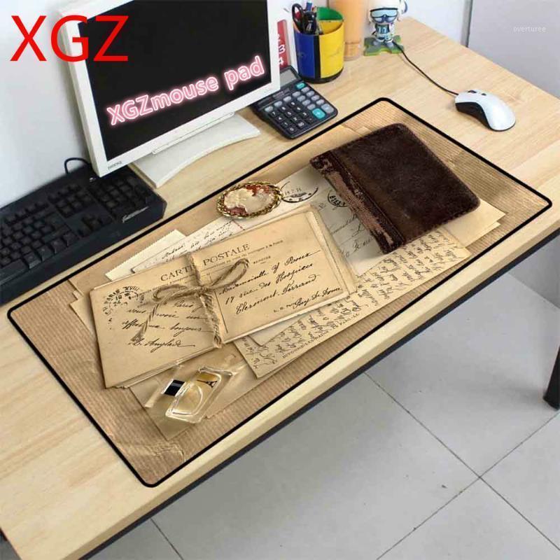 XGZ Mousepad HD Buchmuster Große Mauspad Computer Notebook Cool Player Gaming Desk Mauspad Schreibtisch Matte Gaming Zubehör1