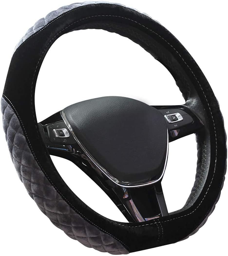 D Forma Anti ColdSlip Carro de Carro Cobertura Universal 15 Polegada, Cinza