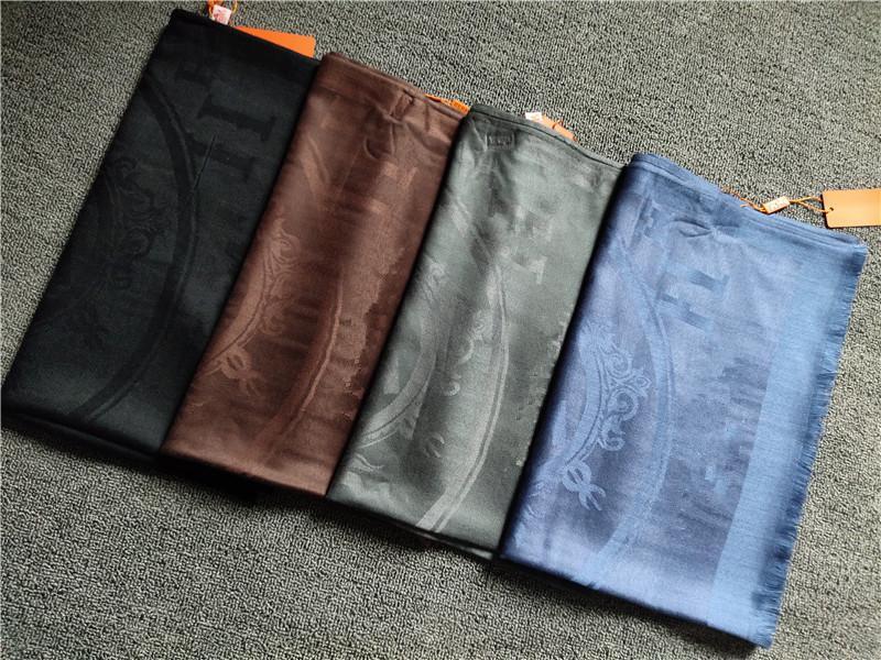 Mode Herbst und Winter Four Seasons Warme Seidenwolle Schal Multi-Color Optionale heiße Verkaufsförderung 180 * 70cm Schal Tuch