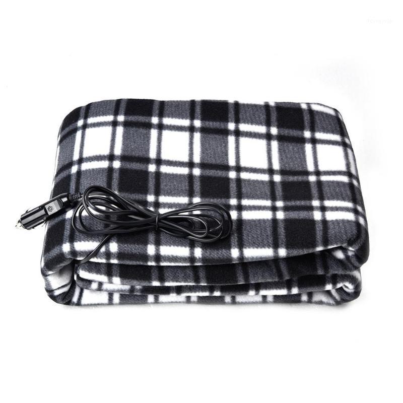 Cobertor elétrico do aquecimento elétrico do carro elétrico do carro de 12V Cobertor 100 * 150 cm Cobertores macios do colchão macio para o inverno aquecido1