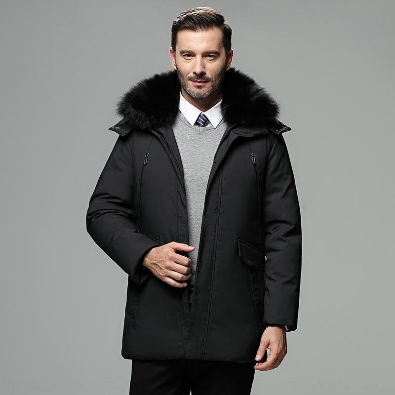 Zybh Chaqueta de invierno espesando chaqueta abajo cálido piel grande capucha capas adolescentes invierno ropa exterior de invierno grados de invierno
