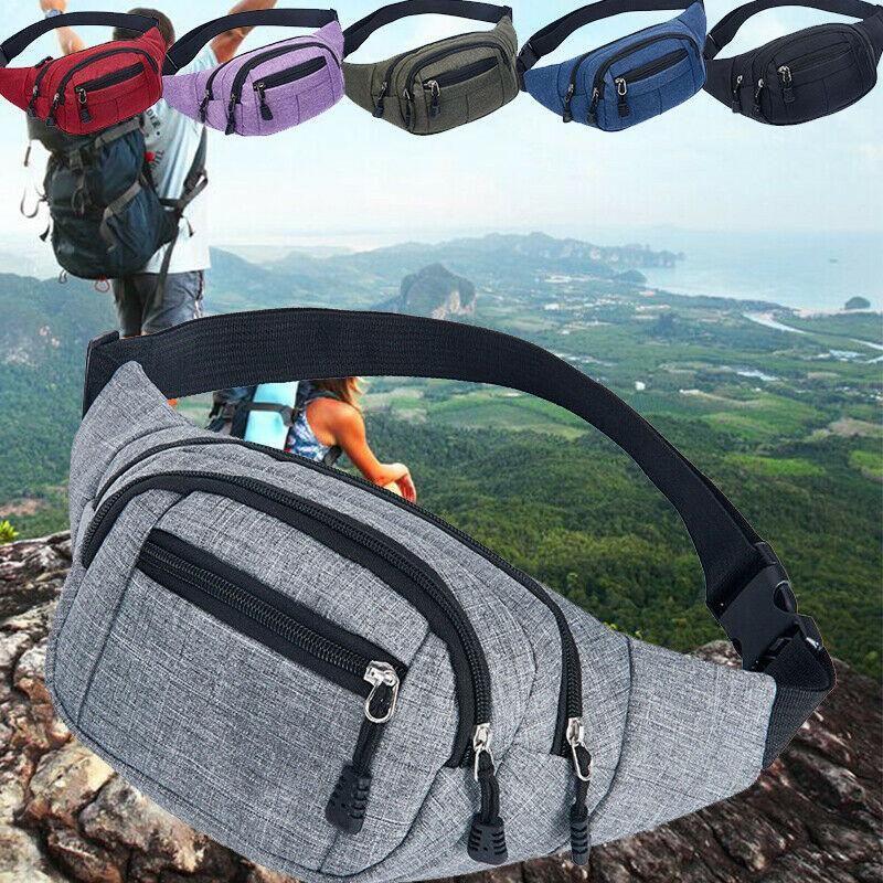 Bum Herren Brust Reiseverpackung 2020 Casual Fanny Pack Taille Tasche mit Reißverschluss im Freien Neue Schulter Brand Tasche Sportbeutel TUDRC
