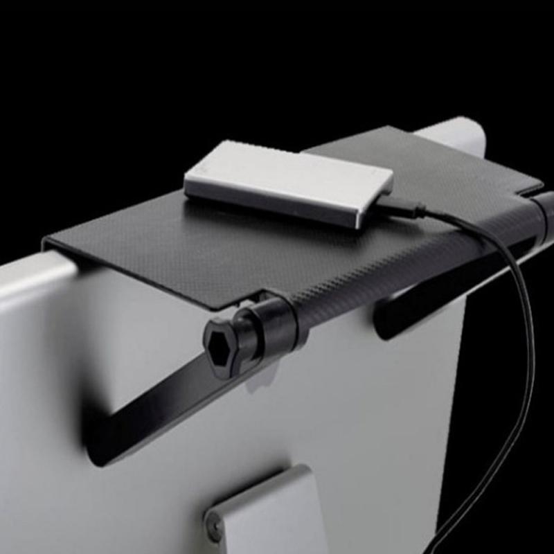 شاشة العلبة قابلة للتعديل شاشة التلفزيون الأعلى الرف سطح المكتب تخزين حامل حامل التخزين حامل للكمبيوتر سطح المكتب تخزين مكتب الرف الأسود