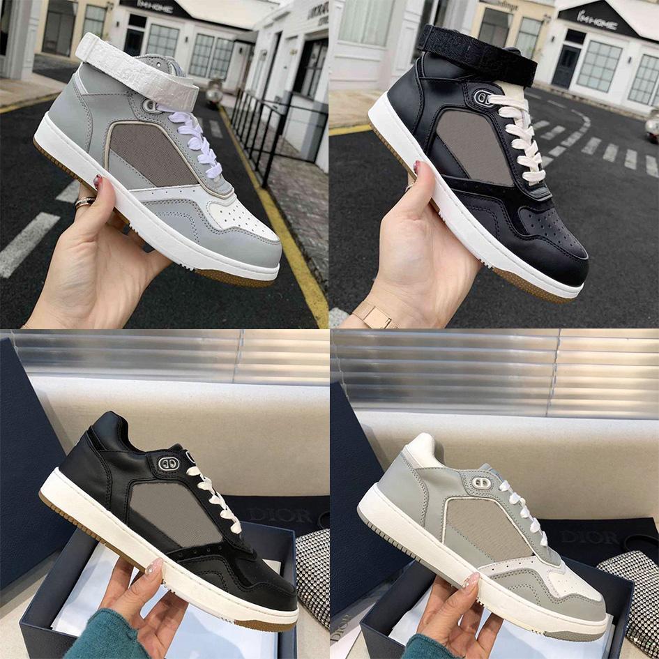 2021 Sıcak Severler Sneaker Ayakkabı Kadın Erkek Hakiki Leathe Rahat Sneaker Ayakkabı Yüksek En Düşük Üst Yürüyüş Ayakkabıları ile Kutusu En Kaliteli