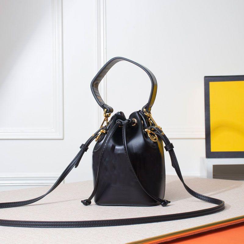 Negro Cadena pequeña Crossbody Letters Bag High Shoulder Mini Bags Calidad JOUNI Moda Mano Cubo Classic Bucket Rhjok