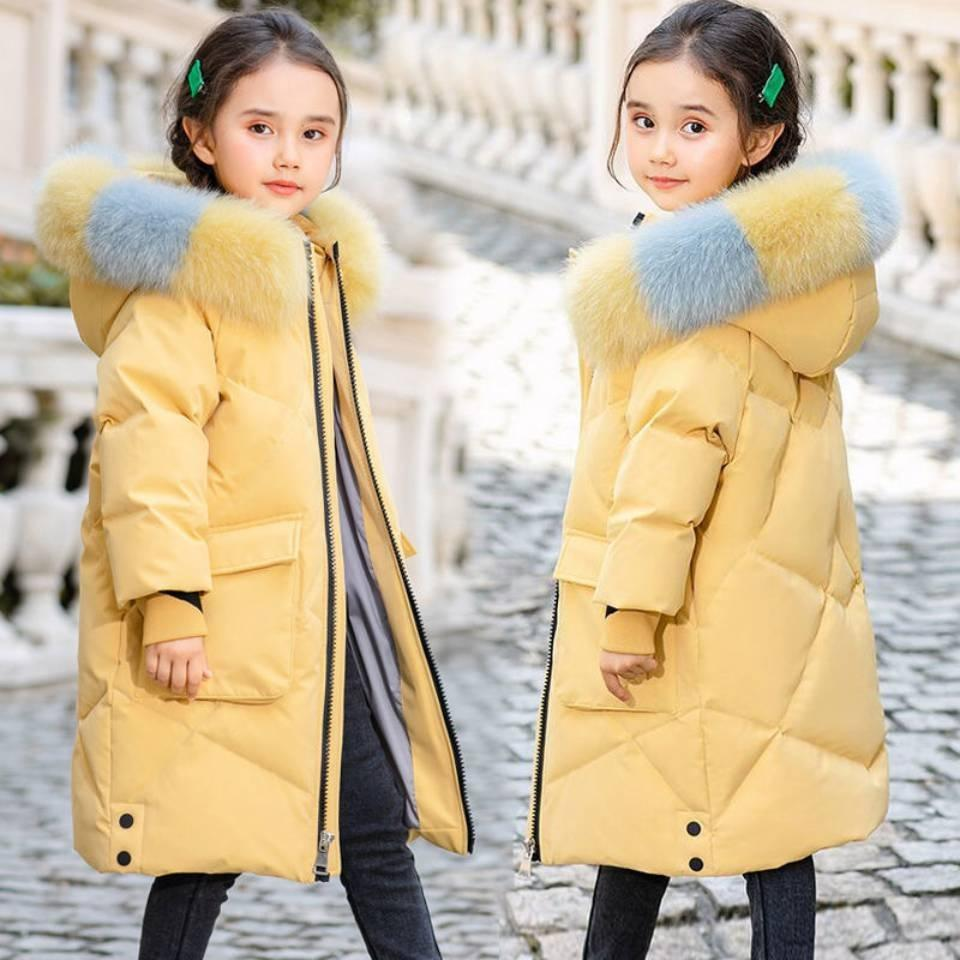 Age for 4 6 8 10 12 Yrs Autumn Winter Children Kids Jackets Outerwear Baby Clothes Girls Coat Thicken Girl Clothing