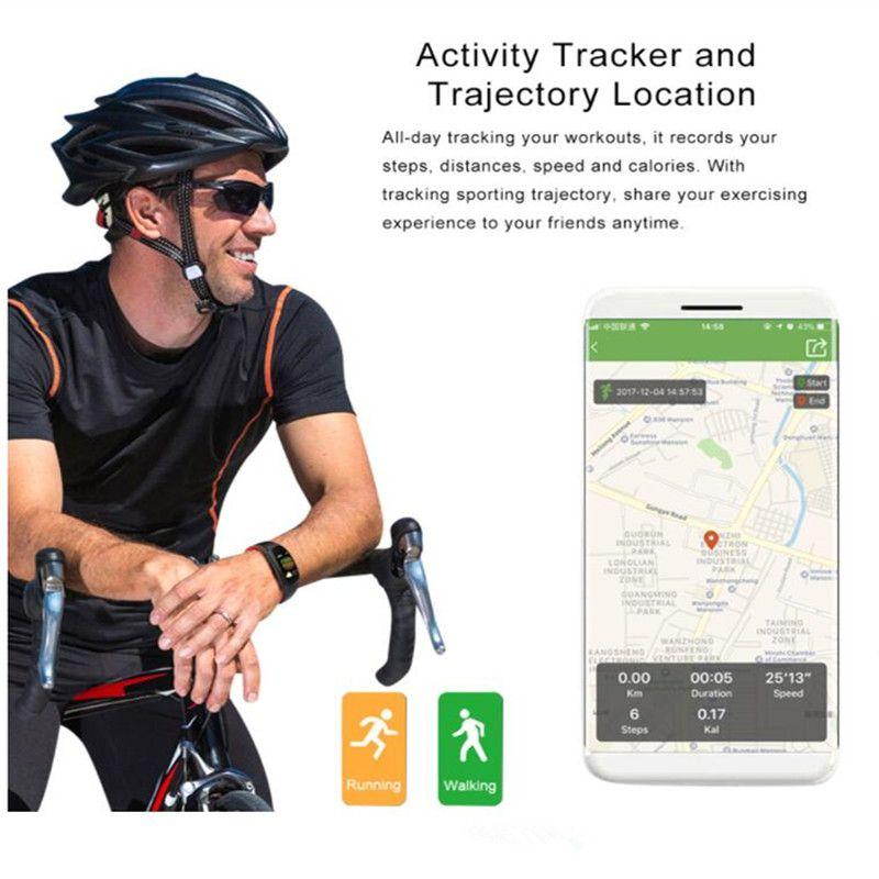 DM11 3D Dynamic UI Sport Smart Watches IP68 Heart Rate Smartwristband Fitness Tracker Bracelet Heart rate Monitor Wristbands 5pcs/lot
