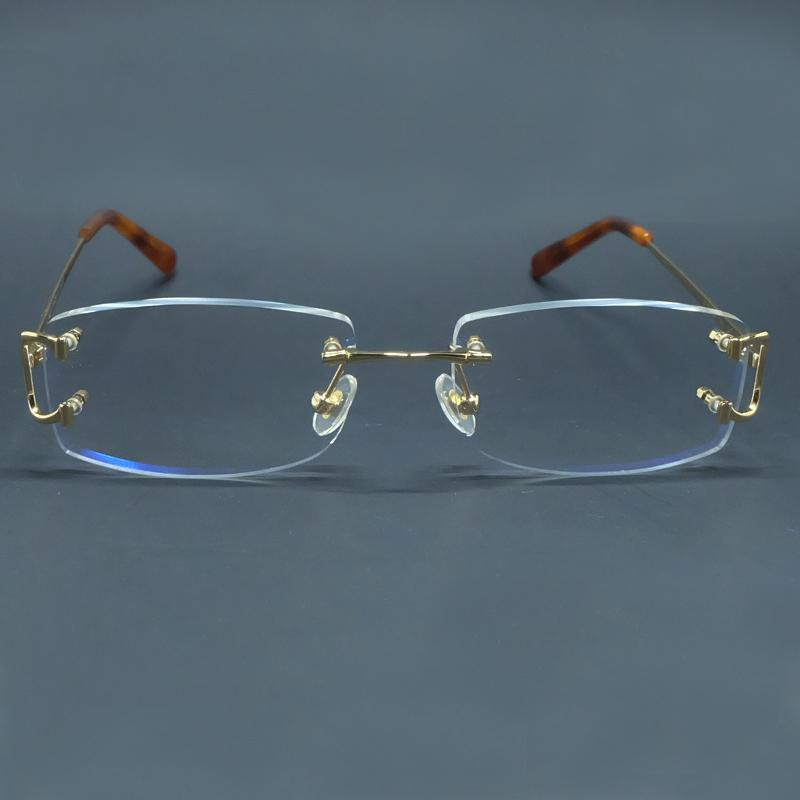 Glasses Designer Luxury Of Transparent Carter Men Clear Frames And Eye Large Glass Dlwpw