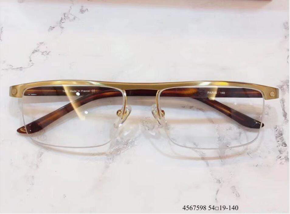 Lense oculos quadro homens claros retro new de grau miopia e óculos mulheres monóculos quadros com caso xkcnd