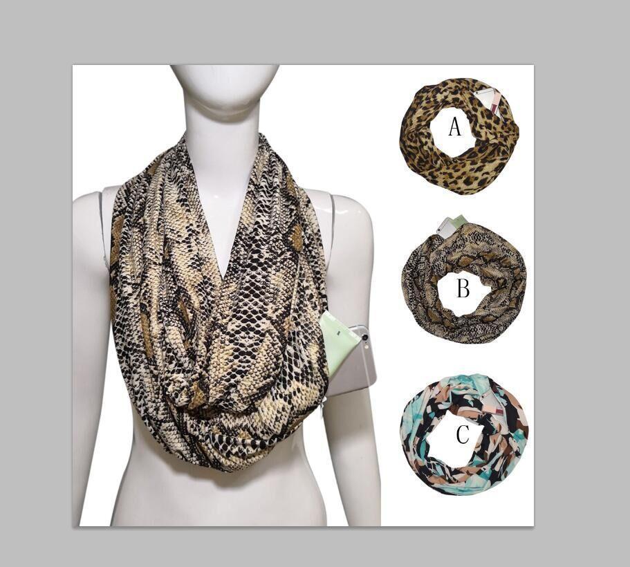 Multi cor quente creative creative lenço de impressão Bib Bolso do zíper