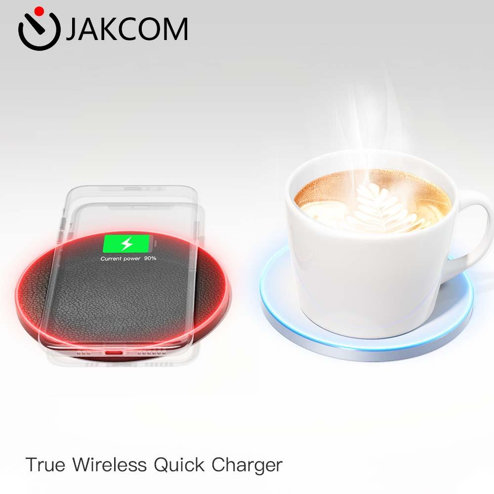 JAKCOM TWC True Wireless Quick Charger mobile phone charging drink food heating 2 in 1 newest high quality 18w qc3 quick charger