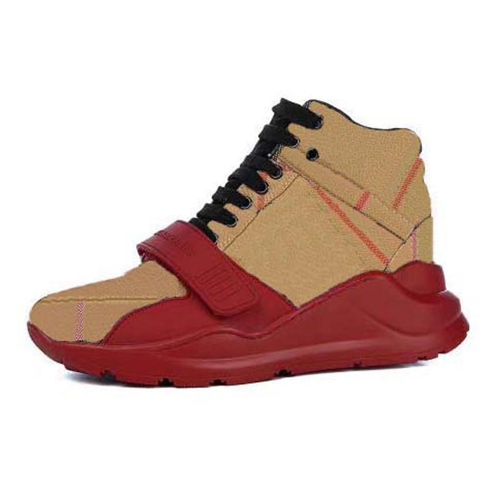 Satmak Hakiki Deri Sneakers Yüksek Kalite Eğitmenler Ayakkabı Erkek Kadın Rahat Ayakkabılar Loafer'lar Floplar Çizmeler Boyutu: 35-44 Kutusu 01