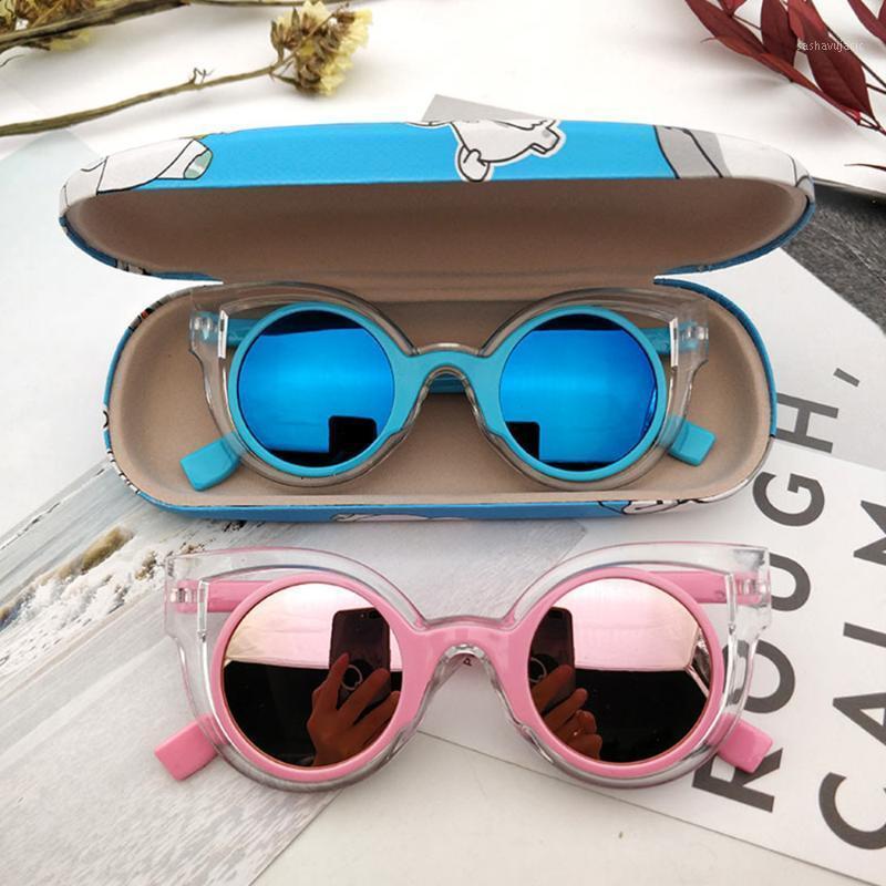Bambini occhiali da sole Nuove ragazze estive ragazze ragazzi occhiali da sole personalizzati cool protezione UV Baby Fashion UV4001