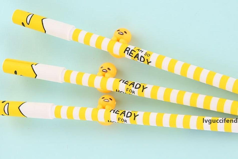 0.38mm 3D ленивый яичный гель-ручка рекламный подарок школьные принадлежности канцелярские товары
