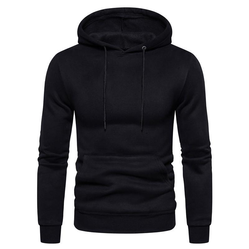 Men Plain Hoodies Sweatshirts New 2020 Men Women Black Hoodie Male Hiphop Spring Autumn Basic Hoodies