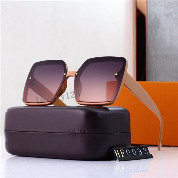 2021 Luxe de haute qualité Nouvelle marque Polarized Lunettes de soleil Hommes Femmes Pilote Sunglasses UV400 Lunettes de lunettes dans la boîte